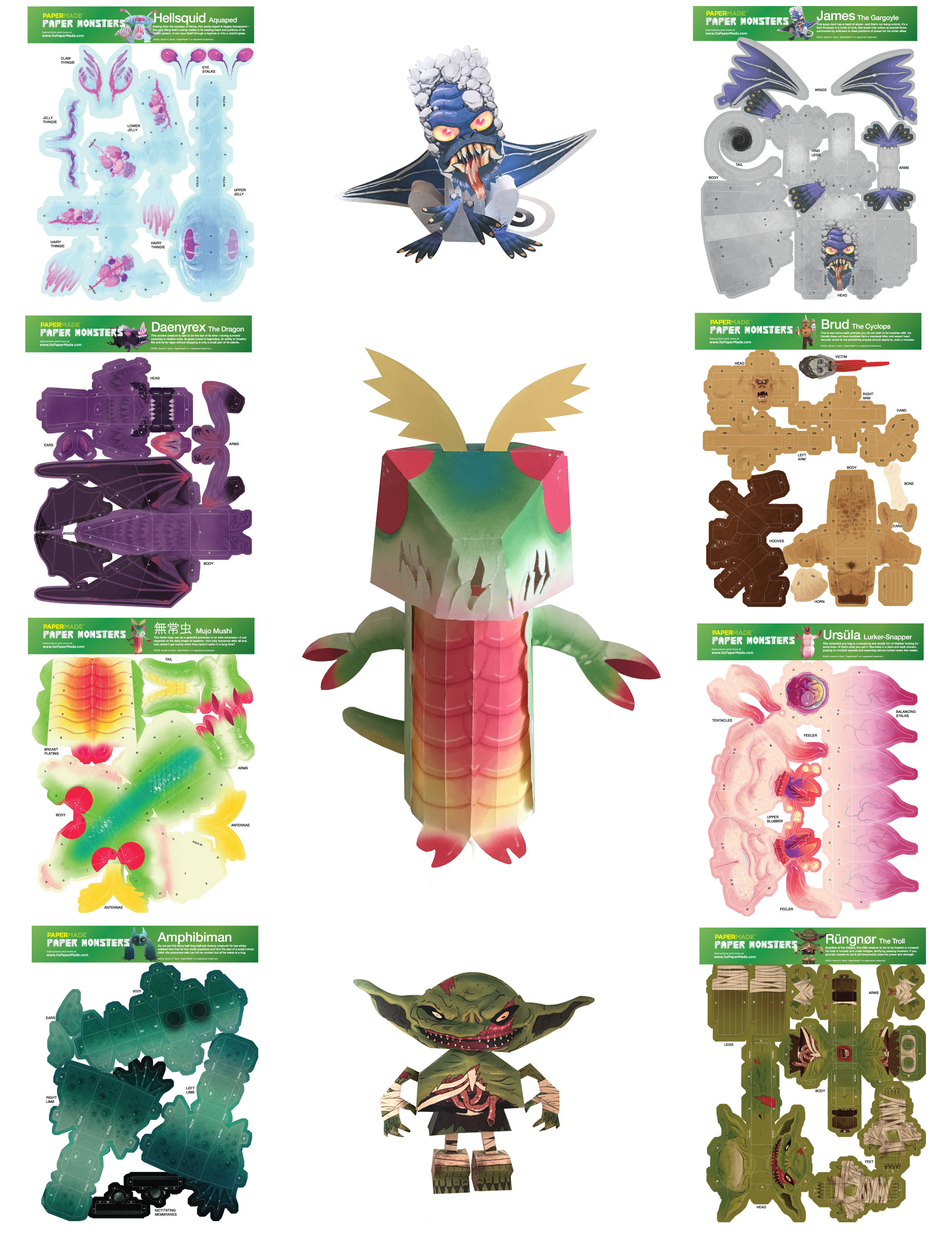 paper critters